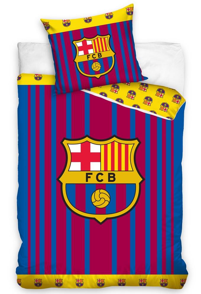 Fotbalové povlečení FC Barcelona Vertical