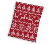 Vánoční deka Norský vzor 130x170 cm