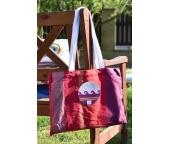 Plážová osuška Sunny Stripes s taškou