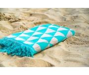 Plážová osuška Jimi Tyrkysová