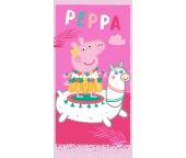 Dětská osuška Prasátko Peppa a Lama