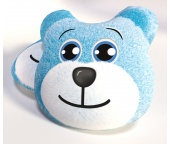 3D Polštářek Medvídek Modrý