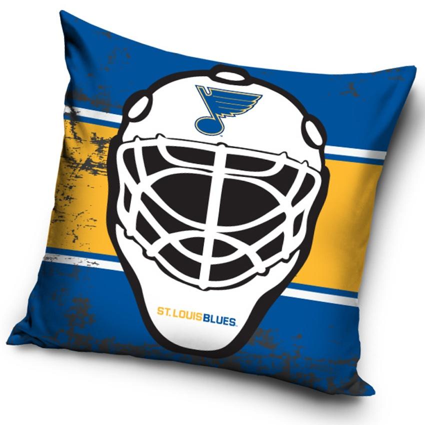 Polštářek NHL St. Louis Blues Maska