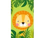 Dětský ručníček Lev v Džungli
