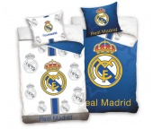 Fotbalové povlečení Real Madrid Blue and White