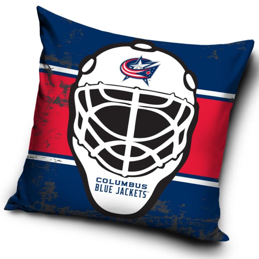 Polštářek NHL Columbus Blue Jacket Maska