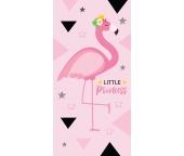 Dětská osuška Plameňák Little Princess