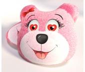 3D Polštářek Medvídek Růžový