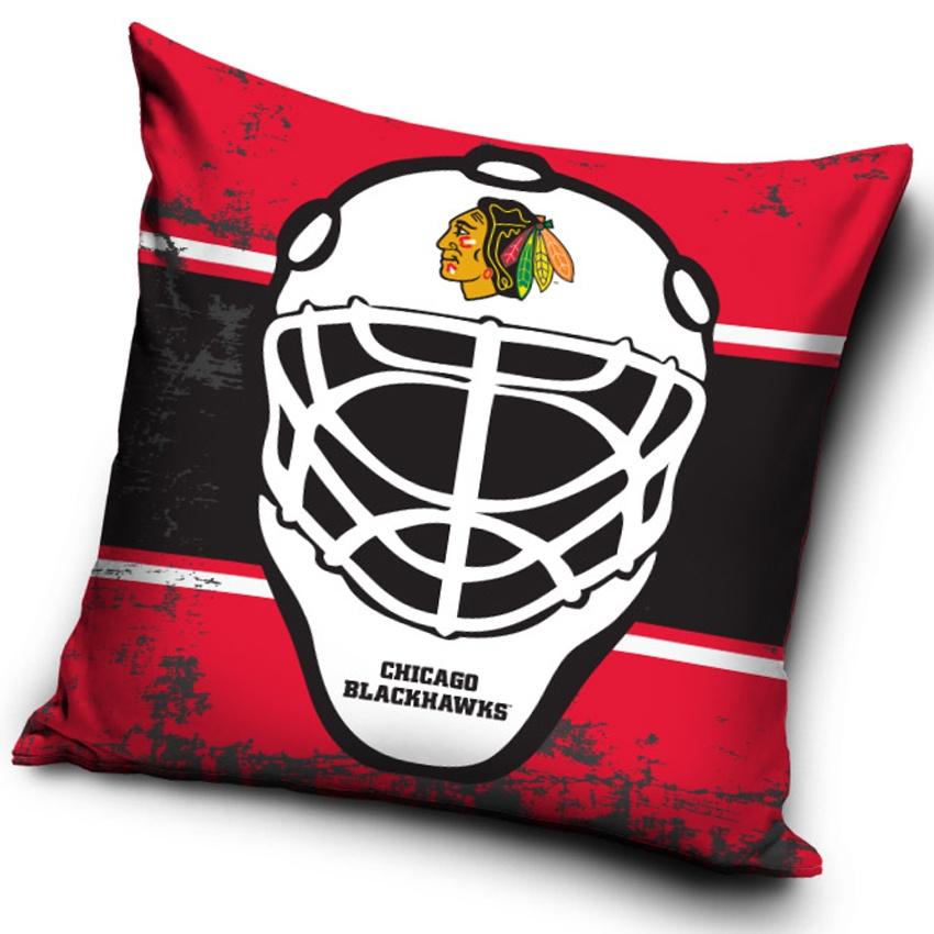 Polštářek NHL Chicago Blackhawks Maska
