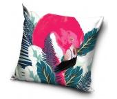 Dekorační polštářek Flamingo