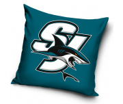 Polštářek NHL San Jose Sharks SJ Blue