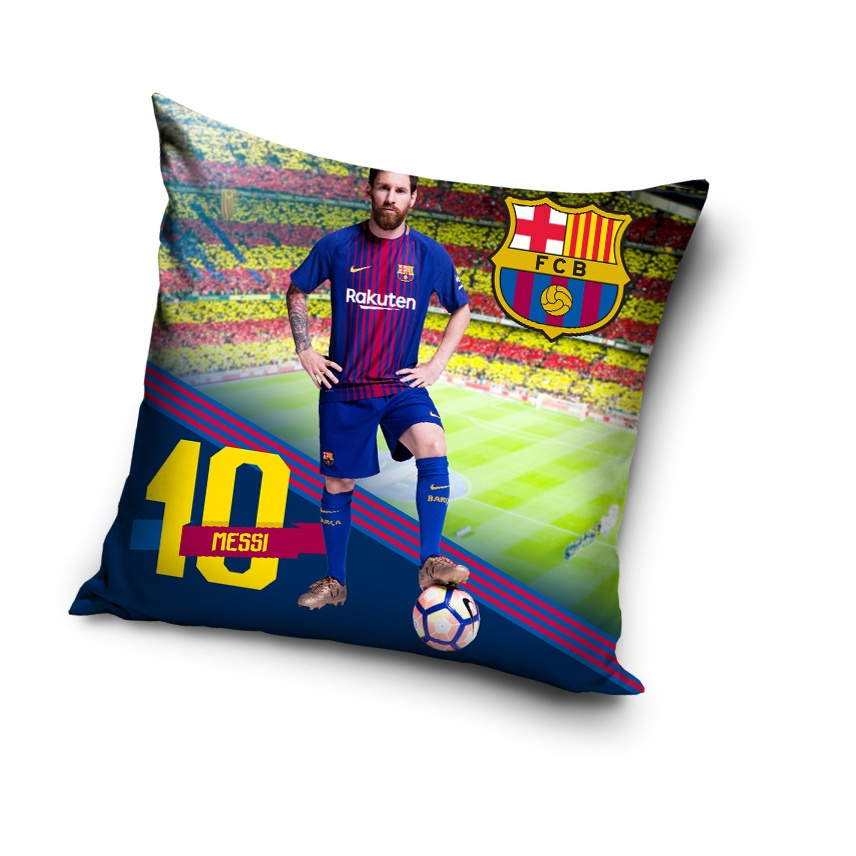 Polštářek FC Barcelona Estrella Messi 2018
