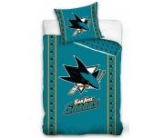 Hokejové povlečení NHL San Jose Sharks Stripes