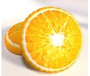 3D Polštářek Pomeranč