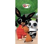 Dětská osuška Zajíček Bing, Flop a Pando