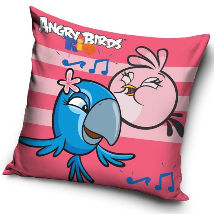 Povlak na polštářek Angry Birds Rose Stripes