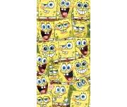 Dětská osuška Sponge Bob Kam se podíváš