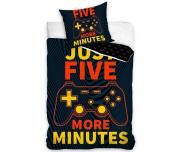 Dětské povlečení Gamer Ještě pět minut