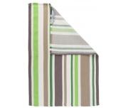 Kuchyňská utěrka Stripes Green