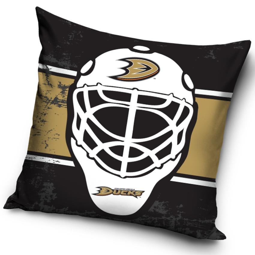 Polštářek NHL Anaheim Ducks Maska