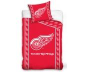 Hokejové povlečení NHL Detroit Red Wings Stripes