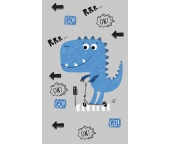 Dětský ručníček Dinosaurus Koloběžkus