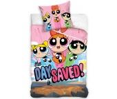 Dětské povlečení Powerpuff Girls Pink