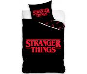 Dětské povlečení Stranger Things Black