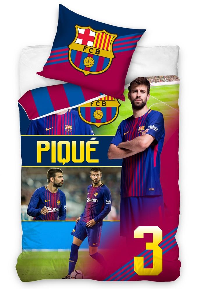 Fotbalové povlečení FC Barcelona Piqué 2018