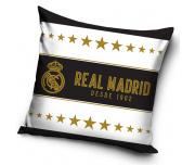 Dekorační polštář Real Madrid Gold Stars 45x45 cm