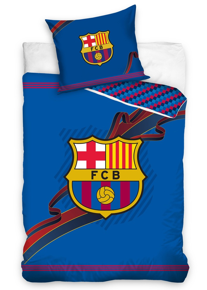 Fotbalové povlečení FC Barcelona Ribbon