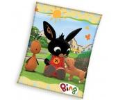 Dětská deka Zajíček Bing Psí kamarád