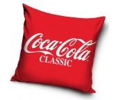 Dekorační polštářek Coca Cola Classic Logo
