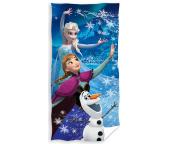Osuška Ledové Království Anna, Elsa a Olaf