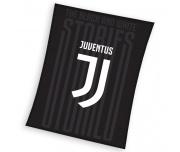 Fotbalová deka Juventus FC Black