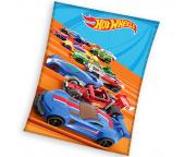 Dětská deka Hot Wheels Na Startu 110x140 cm