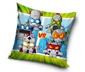 Dětský polštářek SuperZings Silver Robots