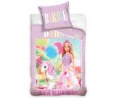 Dětské povlečení Barbie a Jednorožec