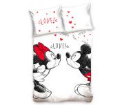 Dětské povlečení Minnie a Mickey Láska nebeská
