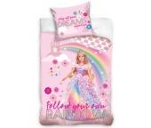 Dětské povlečení Barbie Duhová Princezna