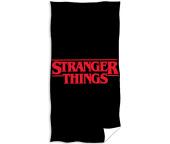 Dětská osuška Stranger Things Black