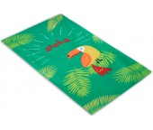 Plážová osuška Papoušek