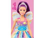 Dětský ručníček Barbie Duhová Víla 30x50 cm