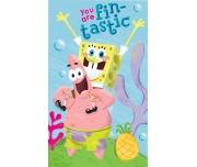 Dětský ručník Sponge Bob - 30x50 cm