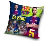 Polštářek FC Barcelona Sergio 2018