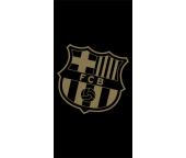 Fotbalová osuška FC Barcelona Gradient Black