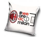 Povlak na polštářek AC Milán White