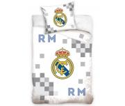 Fotbalové povlečení Real Madrid Dados Grey
