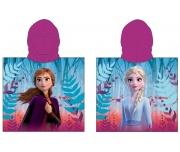 Dětské pončo Ledové Království Anna s Elsou