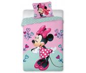 Dětské povlečení Minnie Hearts Flower